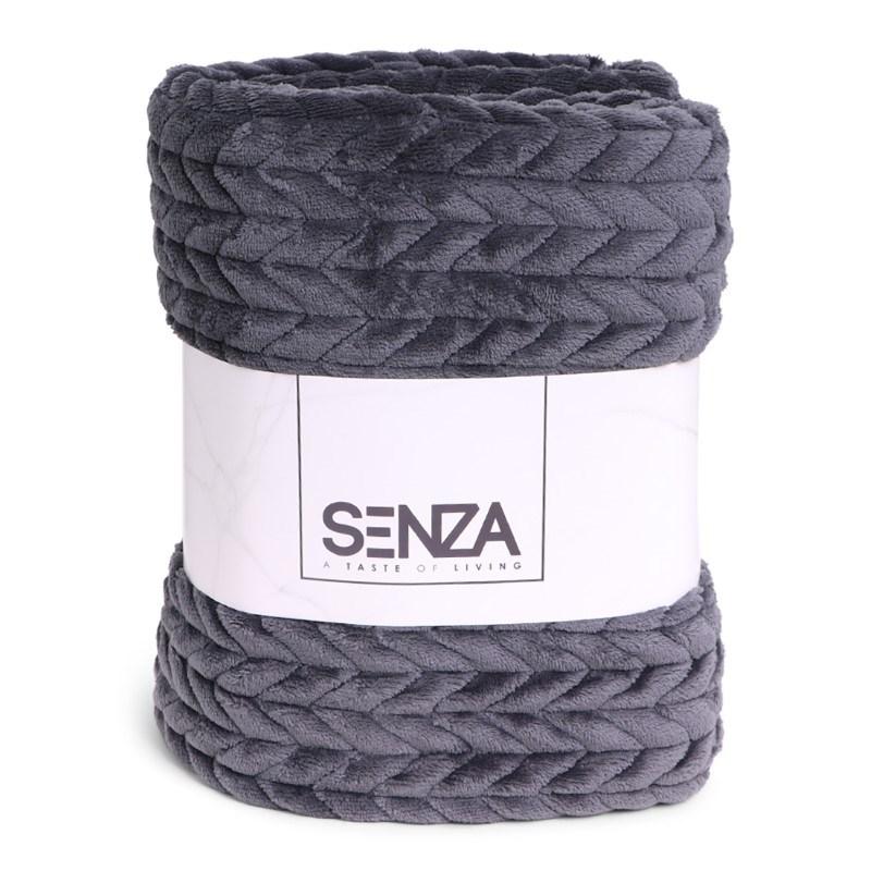 SENZA Royal Blanket Grey