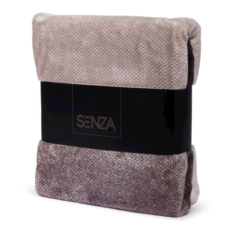 SENZA Ombre plaid grey