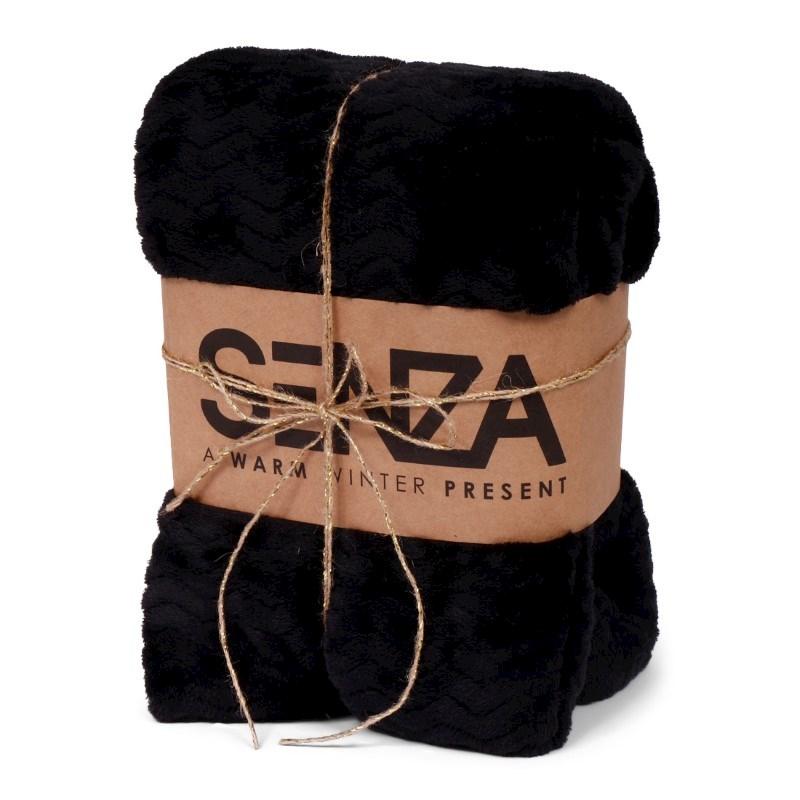 SENZA Gift Blanket Black