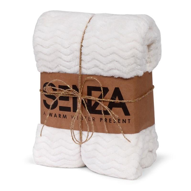 SENZA Gift Blanket White