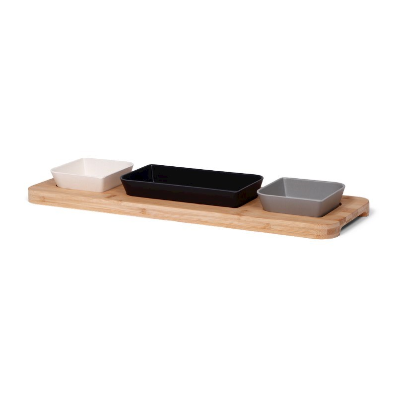 SENZA Bamboo Tapas Board Grey