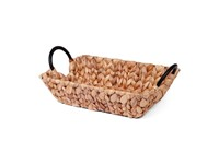 SENZA Rectangle Hyacinth tray with handles