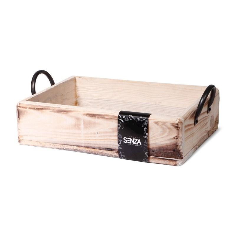 SENZA Multifunctional wooden tray Large