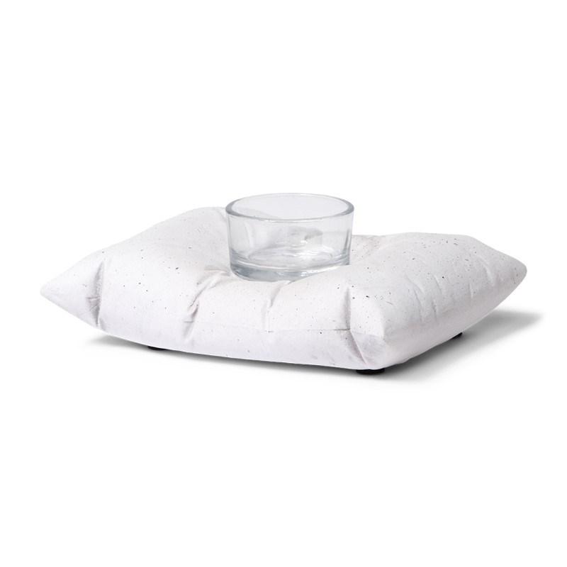 SENZA Pillow Tealight Holder Small White