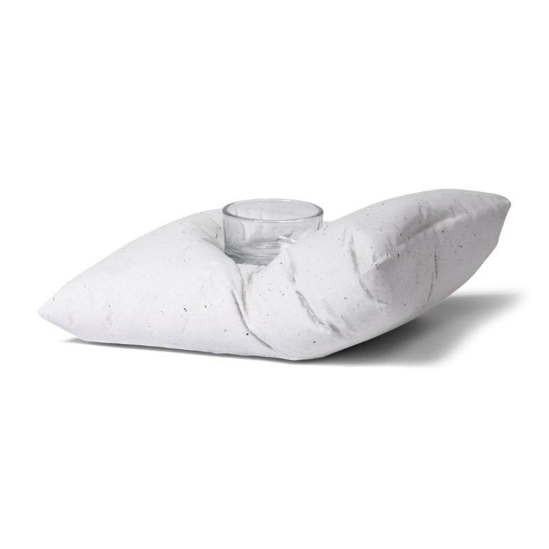 SENZA Pillow Tealight Holder Large White