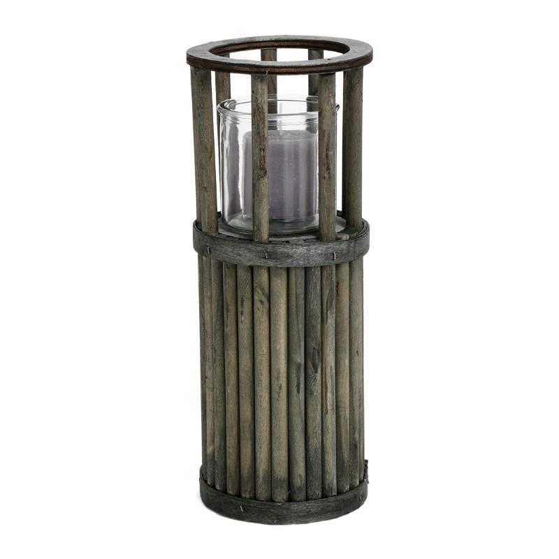 SENZA Pillar Lantern Small Green