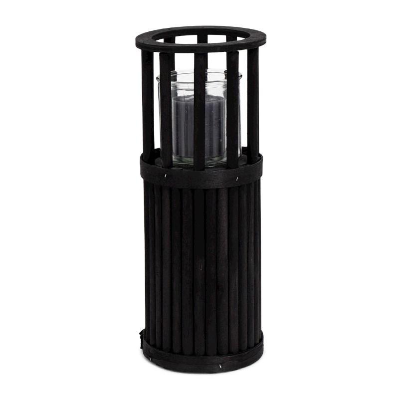 SENZA Pillar Lantern Small Black
