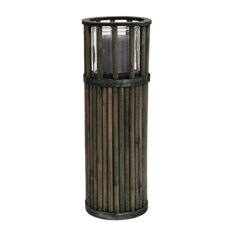 SENZA Pillar Lantern Large Green