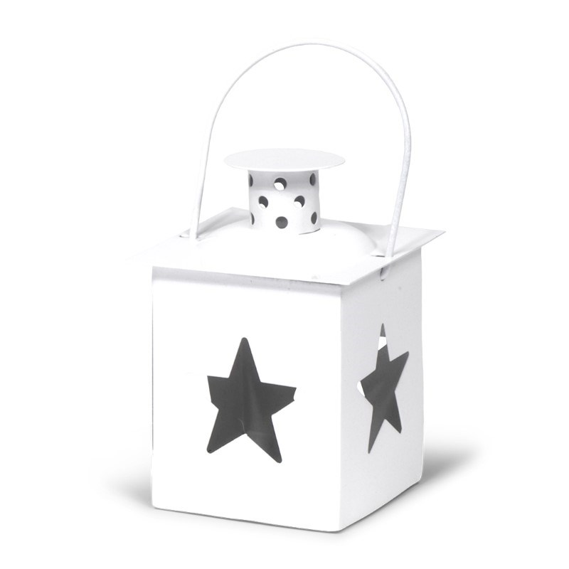Tealight Lantern Star White