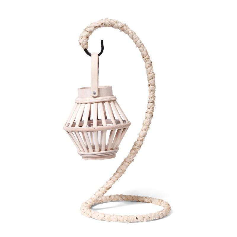 SENZA Bamboo Lantern Hanger Natural