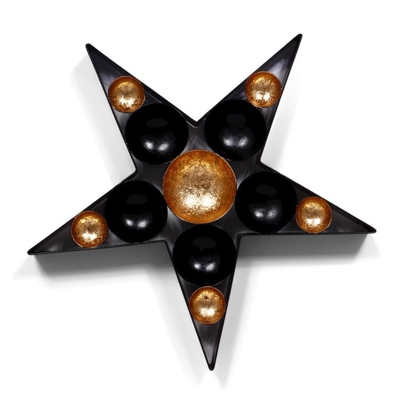 SENZA Tealights Star Gold