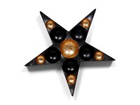 SENZA Tealights Star Gold