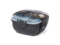 SENZA Lunchbox with Coolingpack Grey