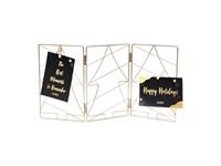 SENZA Metal Cardholder Frame Gold Small