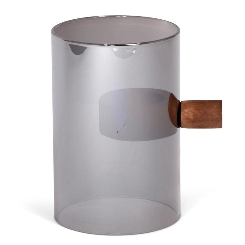 SENZA Magnet Tealight Glass Metallic 15cm