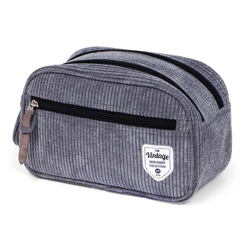 Vintage Ribble Cosmeticbag Icegrey