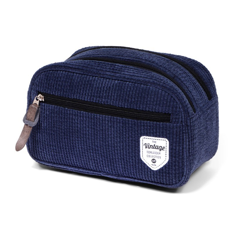 Vintage Ribble Cosmeticbag Blue