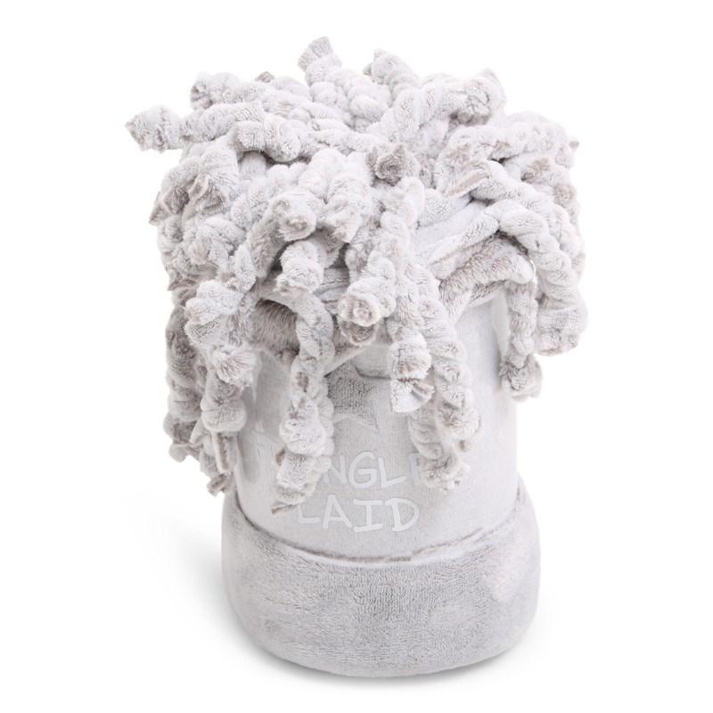 Fringles Plaid Melange Grey
