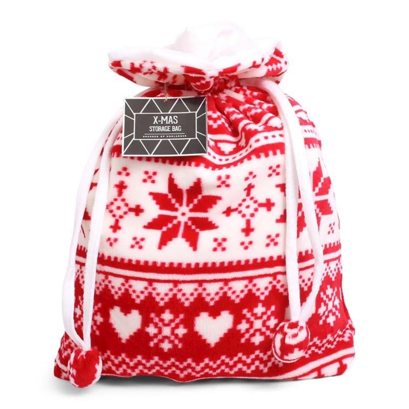 Christmas Storage Bag Red