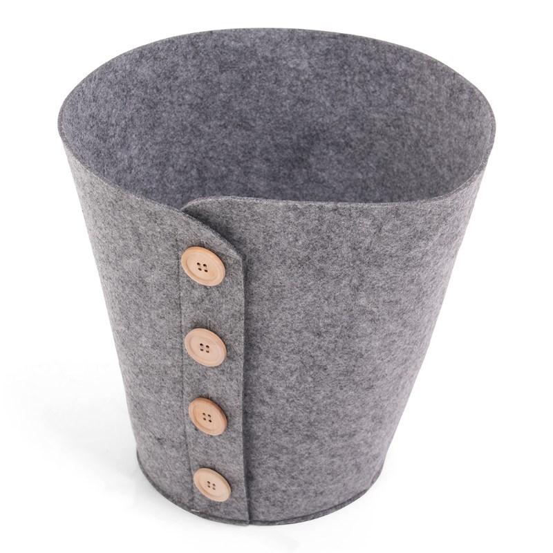Felt Bucket Grey