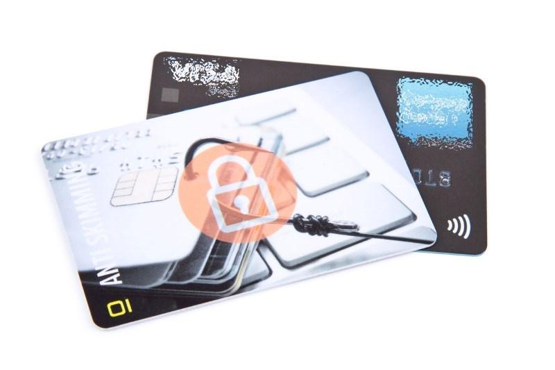 RFID Blocker-kaart glimmend Protection premium sans cartonnette