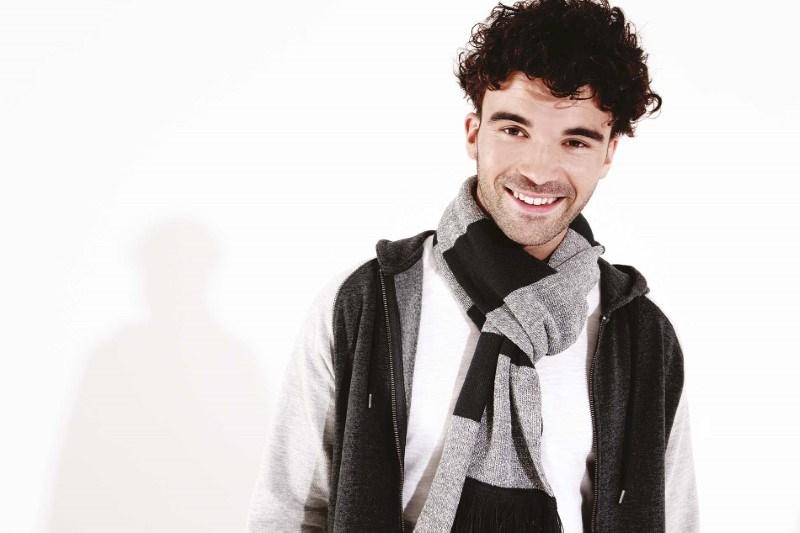 Gestreepte sjaal Varsity