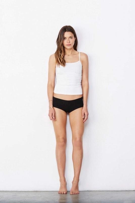 Women's Cotton Spandex Shortie