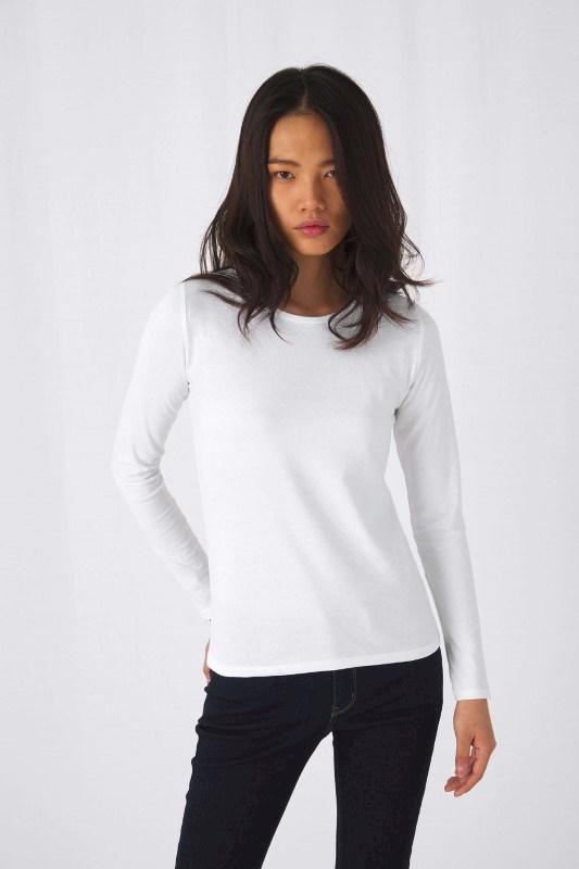 #E190 Ladies' T-shirt long sleeve