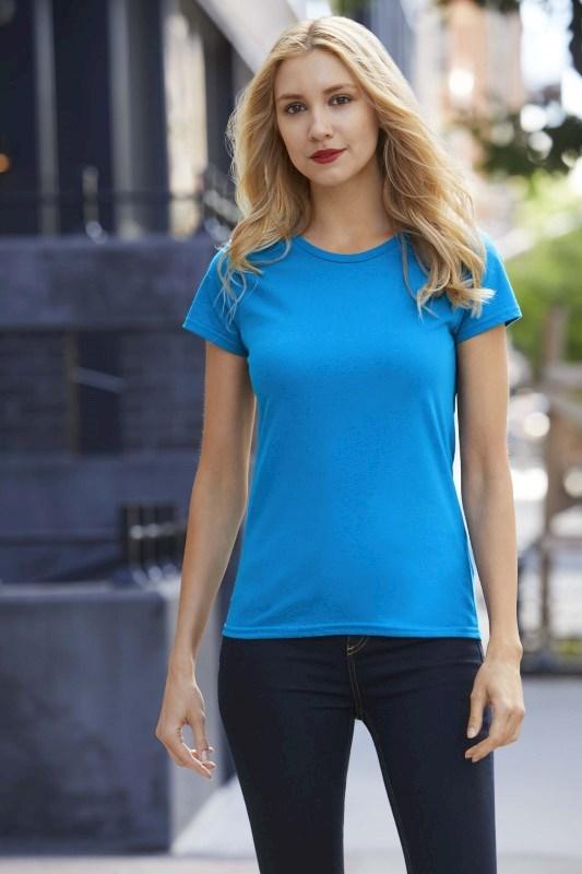 Premium Cotton? Ring Spun Semi-fitted Ladies' T-shirt