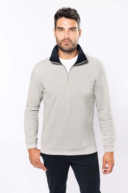 Trucker - Ritskraagsweater