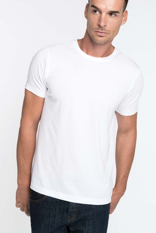 Men?s short-sleeved crew neck T-shirt