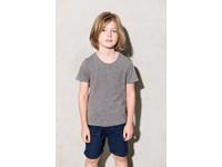 T-shirt biologisch katoen met korte mouwen kids