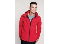Heren Afneembare hooded softshell jas