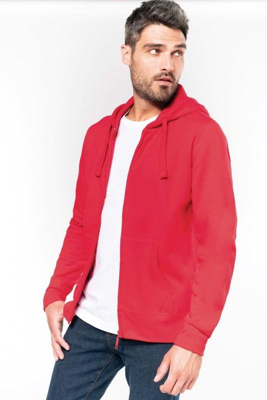 Hooded Sweater Met Rits