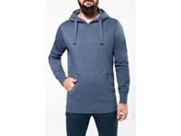 Sweater met capuchon polykatoen