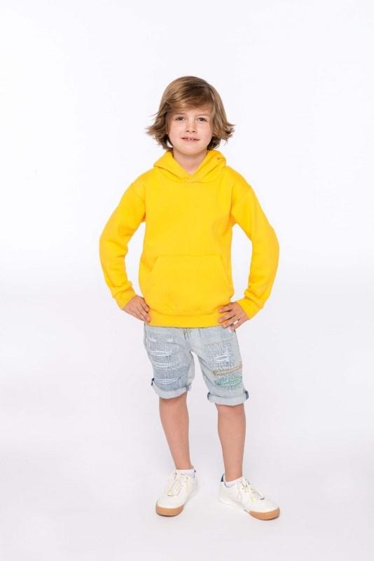 Kindersweater met capuchon