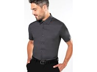 Getailleerd heren non-iron overhemd korte mouwen