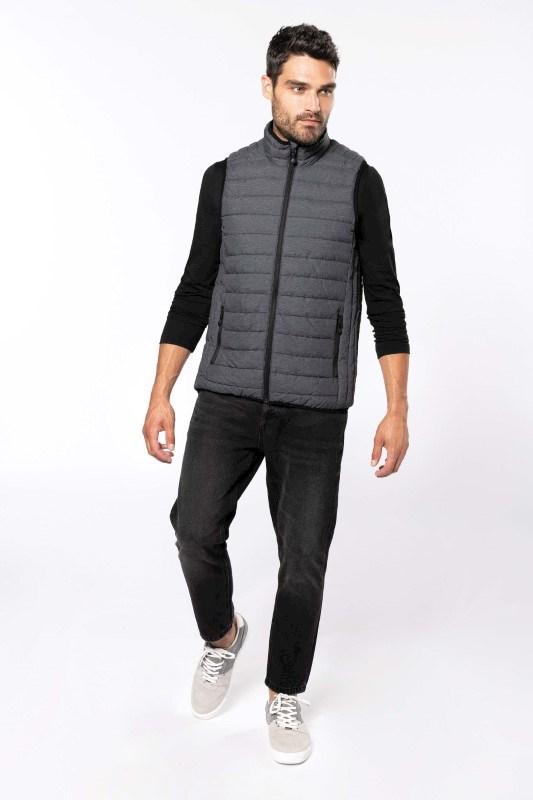 Men?s lightweight sleeveless down jacket