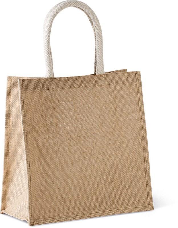 Shopper van jutecanvas - groot model