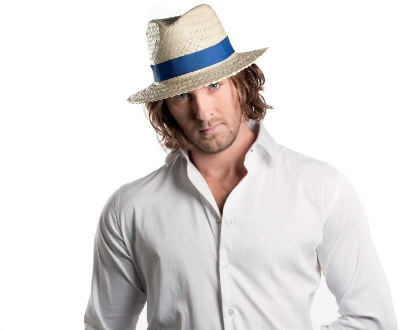 Afneembaar lint voor Panama & Boater hoeden