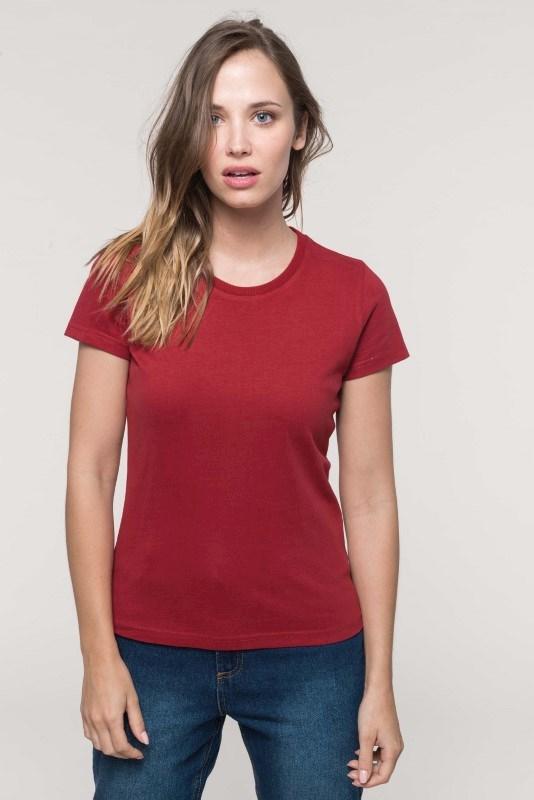 Vintage dames-t-shirt met korte mouwen