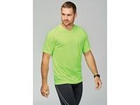 Heren-sport-t-shirt V-hals
