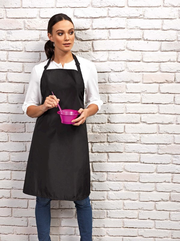 Waterproof bib apron