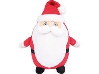 Knuffel met rits kerstman