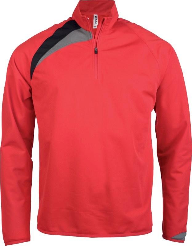 Trainingsweater Met Ritskraag