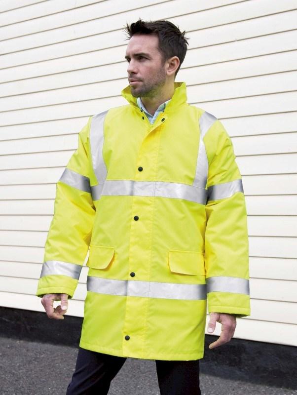 Core Hi Viz Motorway Coat