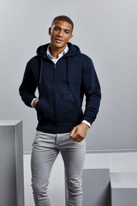 Authentic Full Zip Hooded Sweatshirt