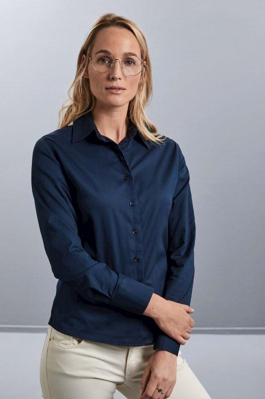 Ladies' Long Sleeve Classic Twill Shirt