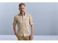Men's Roll Sleeve Shirt - Long Sleeve