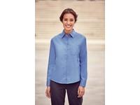 Ladies' Ls Pure Cotton Easy Care Poplin Shirt